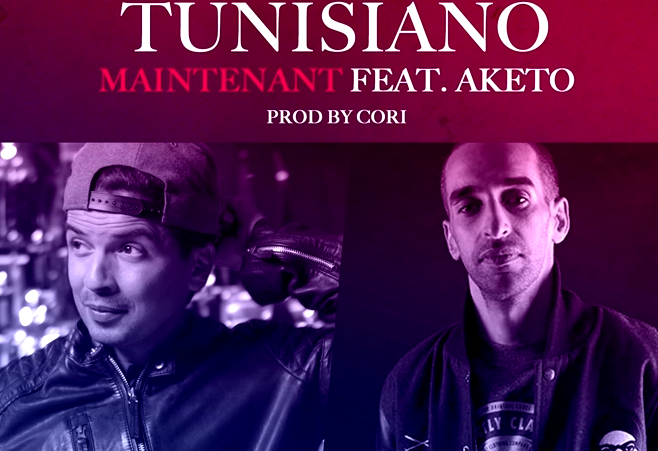 "Tunisiano dévoile le titre ""Maintenant"" Featuring Aketo"