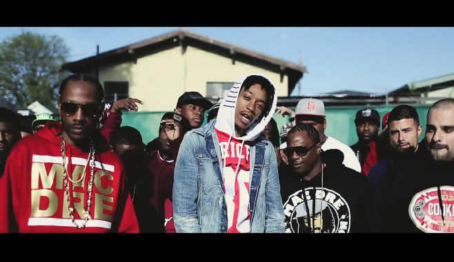 "Wiz Khalifa balance son nouveau clip intitulé ""Maan! Weedmix"""