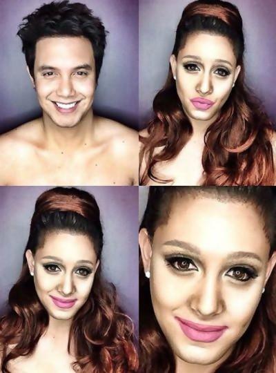 Paolo en Ariana Grande