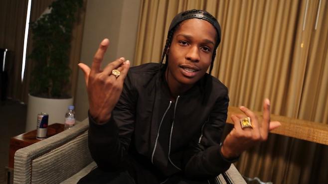 A$ap Rocky provoque une émeute à New York