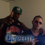 Booba en studio avec le producteur Scott Storch 