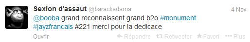 Barack Adama sur Twitter