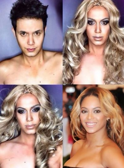 Paolo en Beyoncé
