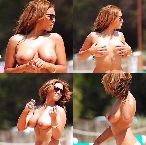Beyoncé topless ?