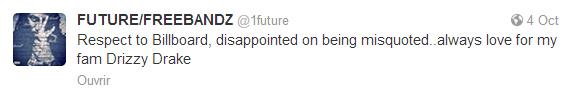 Future sur Twitter