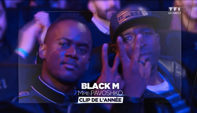 Black m et Dawala