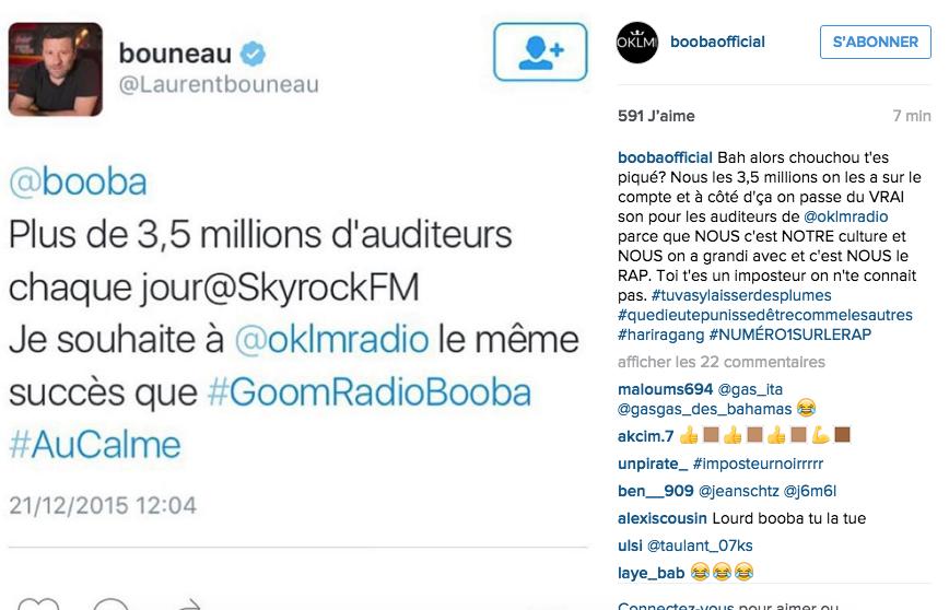 Booba - Oklmradio 2