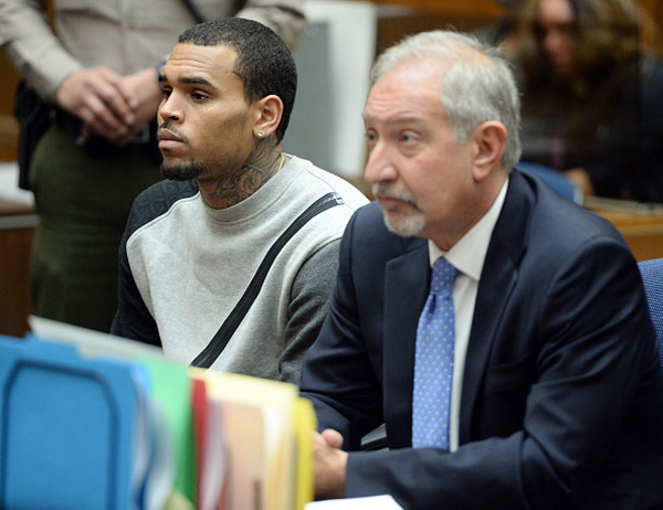 Chris Brown et son avocat, Mark Geragos