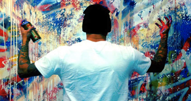 Le graff de Chris Brown drange ses voisins !