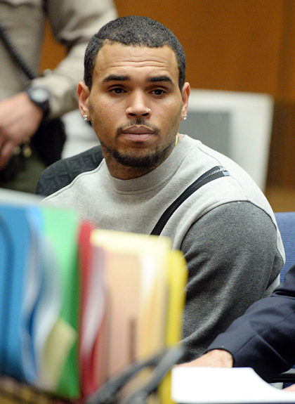 Chris Brown au Tribunal