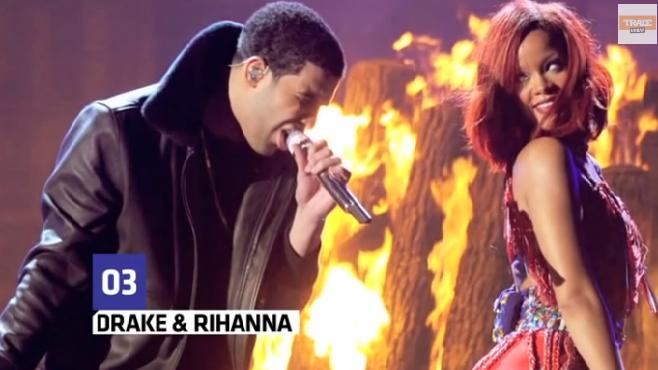 Drake et Rihanna dépensent plus de 70000 euros dans un strip-club