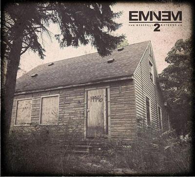 Pochette Album Eminem