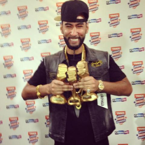 La Fouine grand vainqueur des Trace Urban Music Awards