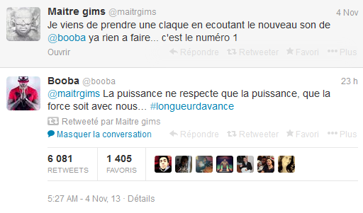 Maitre GimS sur Twitter