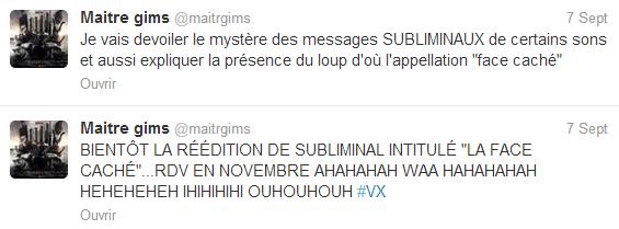 Maitre Gims annonce la réédition de SUBLIMINAL en novembre