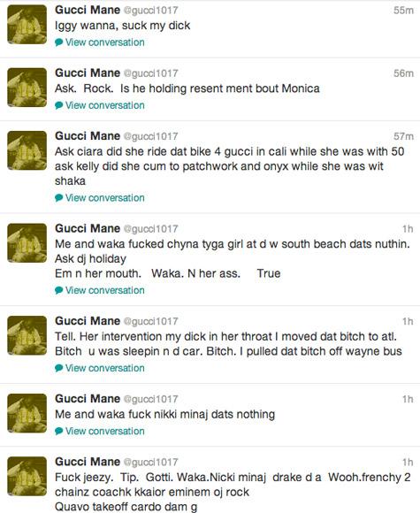 Les Twwets de Gucci Mane