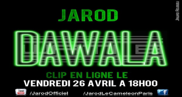 Jarod : il sort un clip demain !