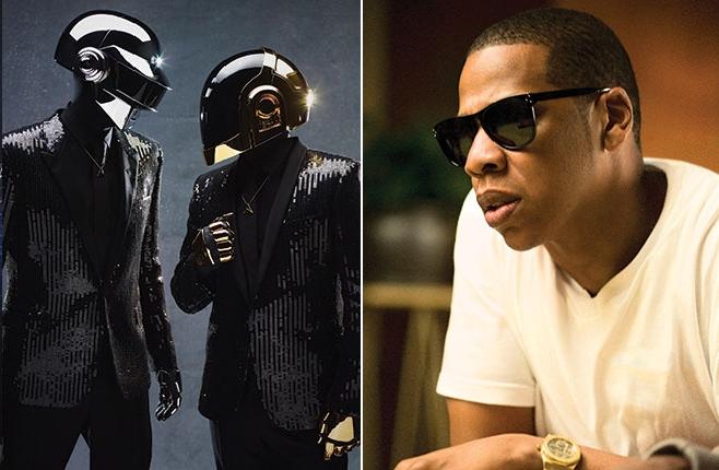 """Jay z présente le morceau """"Computerized"""" Featuring Daft Punk"""