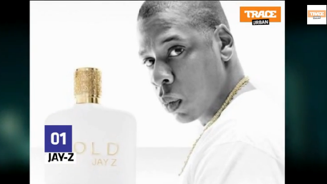 """Jay Z présente son nouveau parfum """"Gold"""""""