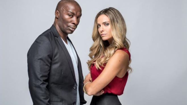 MC Jean Gabin présentateur TV aux cotés de l'ex stardu X Clara Morgane