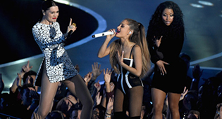 Jessie J, Ariana Grande et Nicki Minaj
