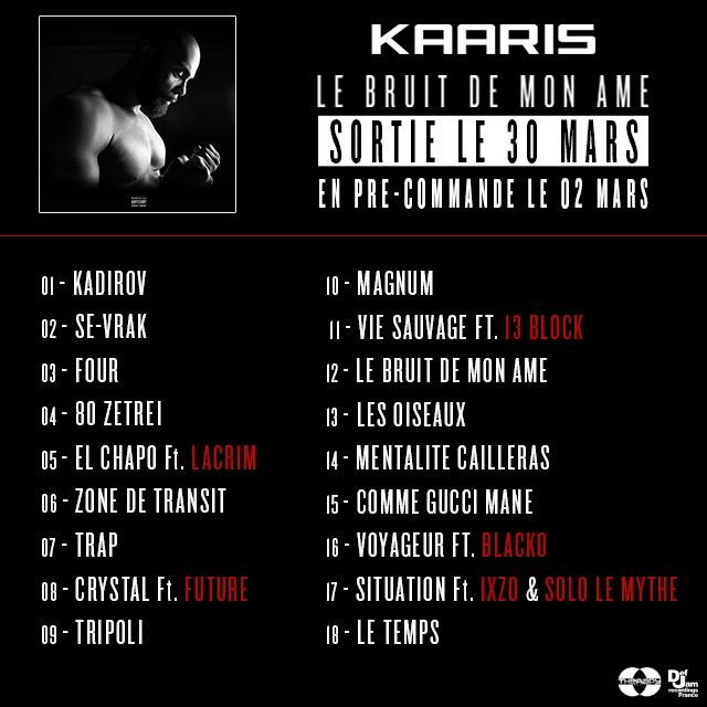 Kaaris Tracklist