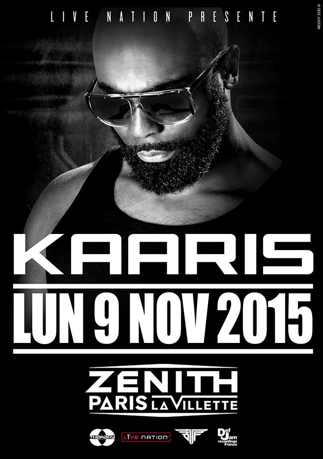 Kaaris Zenith 9 novembre