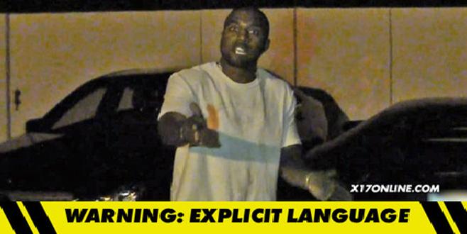 Kanye West nez à nez avec des paparazzis à l'intérieur de sa propriété