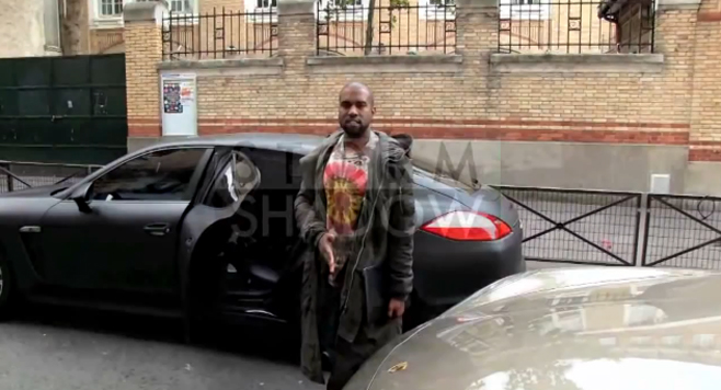 En vidéo, Kanye West à Paris troublé par une femme qui ne le reconnaît pas