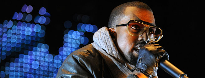 Kanye West en live au Grand Journal de Canal + Lundi soir