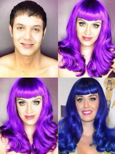 Paolo en Katy Perry