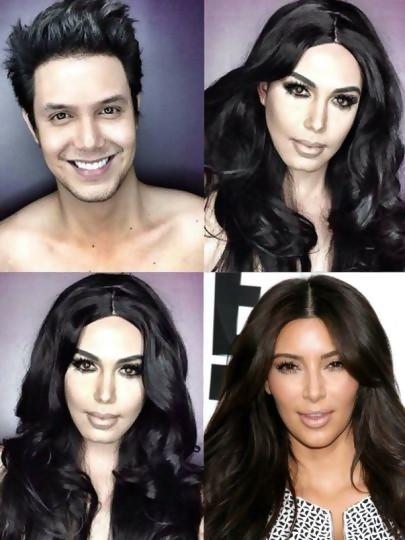 Paolo en Kim Kardashian