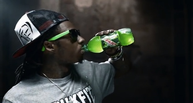Mountain Dew rompt son contrat avec Lil Wayne