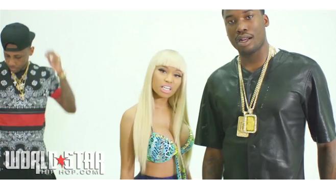 "Meek Mill publie le clip ""I B On Dat"" avec Nicki Minaj, French Montana et Fabolous"
