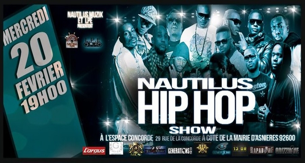 Dany Dan, Nakk Mendosa, Shone, Zesau,Poison, Kozi ... en concert