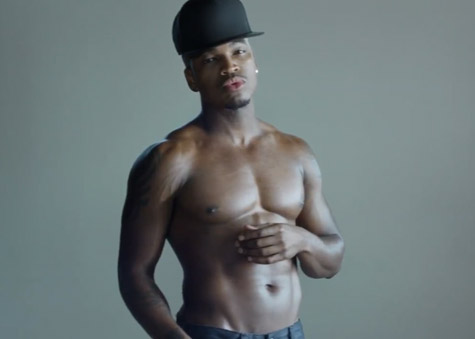 ne-yo-shirtless
