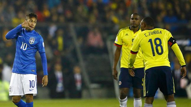 Neymar contre la Colombie