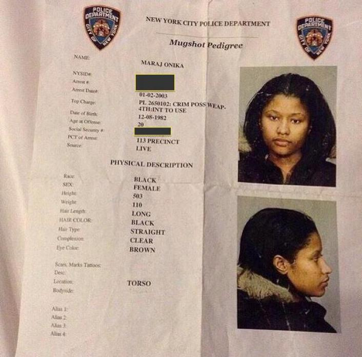 nicki minaj possession arme