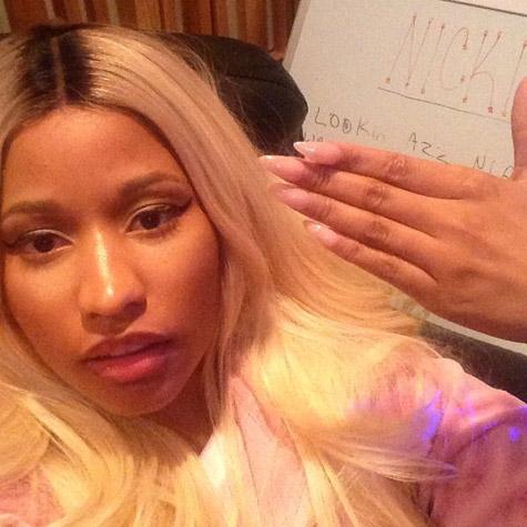 Nicki Minaj sur Instagram