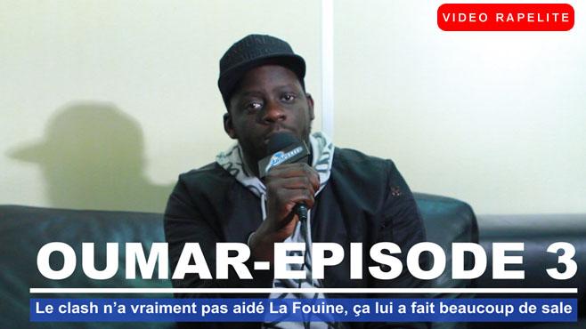 Oumar DEF JAM : Le clash n'a vraiment pas aidé La Fouine, ça lui a fait beaucoup de sale