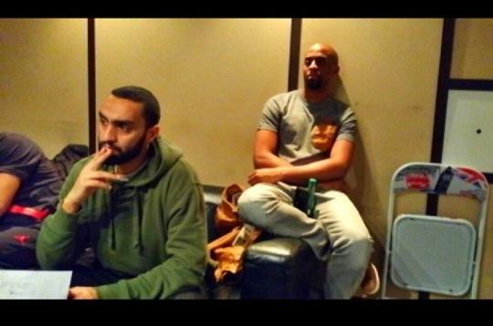 R.E.D.K en studio avec Ali