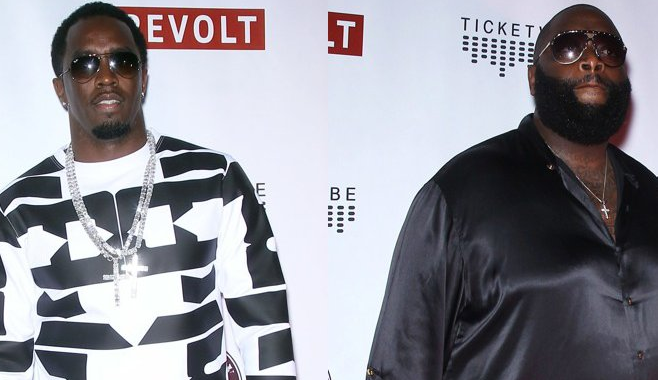 "Diddy & Rick Ross collaborent ensemble sur le morceau ""Big Homie"""