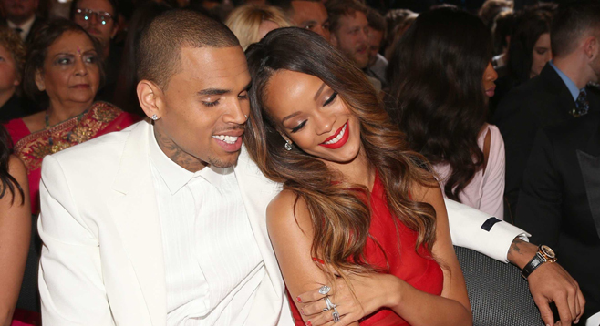 """Chris Brown sur Rihanna """"Tous les mecs de l'industrie ont couché avec ma b*tch,"""
