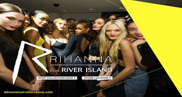 Rihanna et River Island : session stylisme numro 2