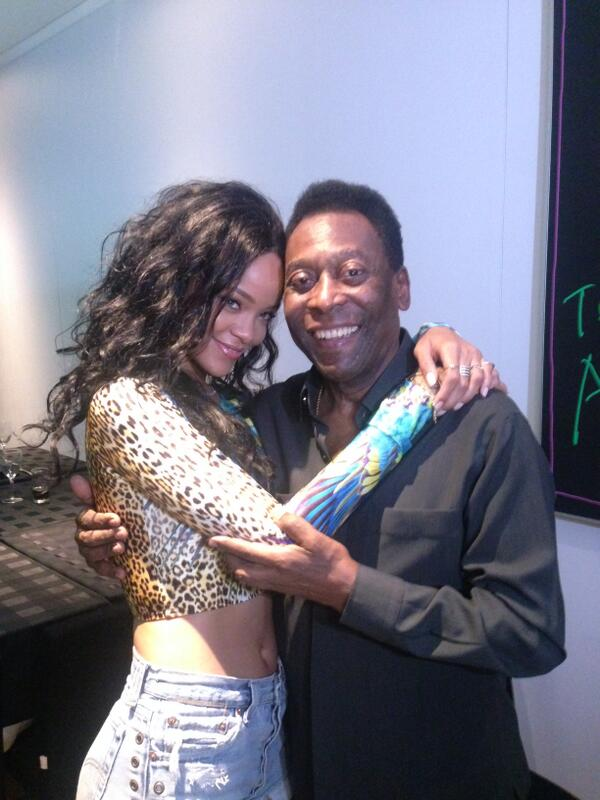 Rihanna et Pelé