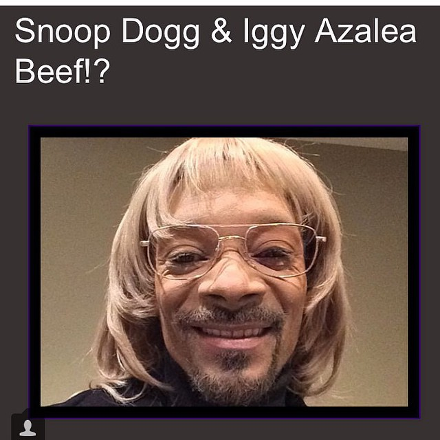 Photo postée par Snoop