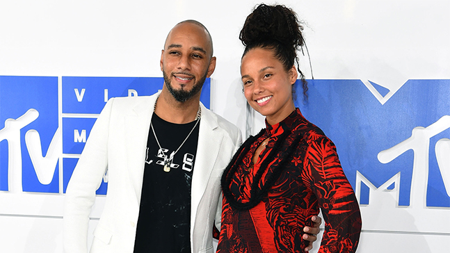 Alicia Keys et Swizz Beatz