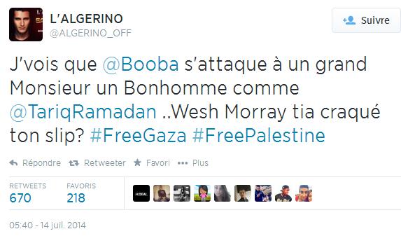 tweet algerino