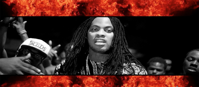 "Waka Flocka nous offre un nouveau freestyle ""Blood on the Leaves"""