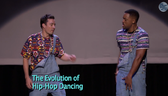 Will Smith & Jimmy Fallon donnent une leçon de danse Hip Hop à la TV